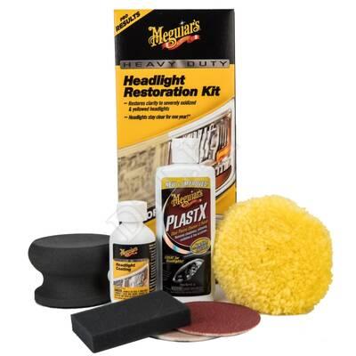 Полный набор для абразивного восстановления фар Heavy Duty Headlight Restoration Kit NEW