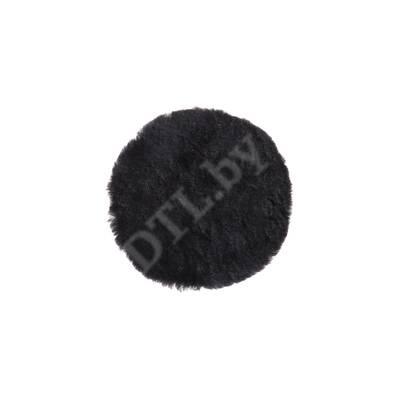 Диск полировальный меховой Pad PRO Mirka чёрный, 150мм