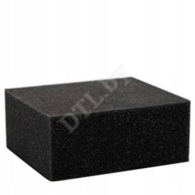Schwamm weich, Kunststoff- Чёрная губка средней плотности Koch-Chemie 1 шт