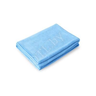 PROFI-MICROFASERTUCH Полотенце для сушки авто 55*80 см, ГОЛУБОЕ, 400гр/м2