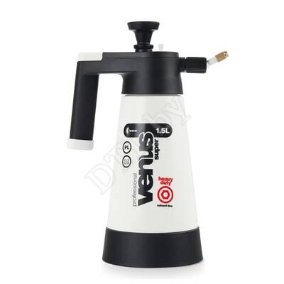 Накачной помповый пульверизатор - Sprayer Venus Super PRO+HD Solvent 1,5 (черный)
