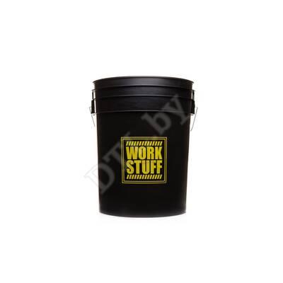 Ведро чёрное Black Bucket 20L HDPE - RINSE