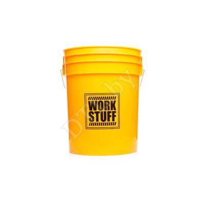 Ведро жёлтое Yellow Bucket 20L HDPE - WASH