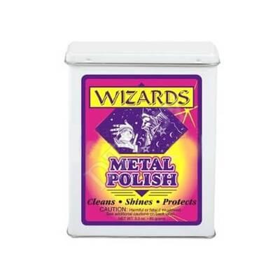 Wizards Metal Polish - Металлическая вата для полировки хрома, 85 гр