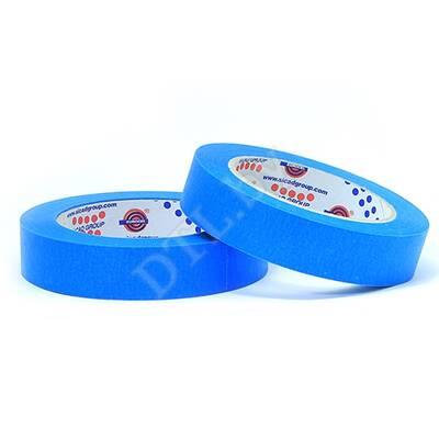 Маскирующая малярная лента 80°С, синяя 25 мм*45 м