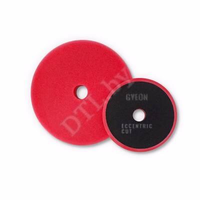 GYEON ECCENTRIC CUT Полировальный круг эксцентрик средней жесткости, красный 80 х 20 мм (2 шт)