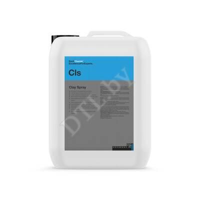 Clay Spray Лубрикант для глины и автоскрабов без силикона Koch-Chemie 10 л