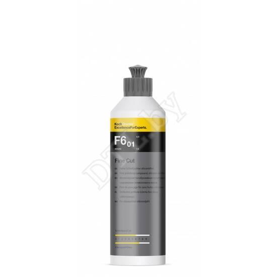 Fine Cut F6.01 Мелкозернистая абразивная полировальная паста без силикона Koch-Chemie 250мл