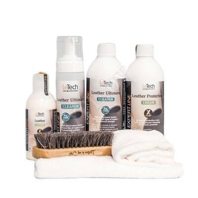 Набор для ухода за кожей Leather Care Kit Advanced