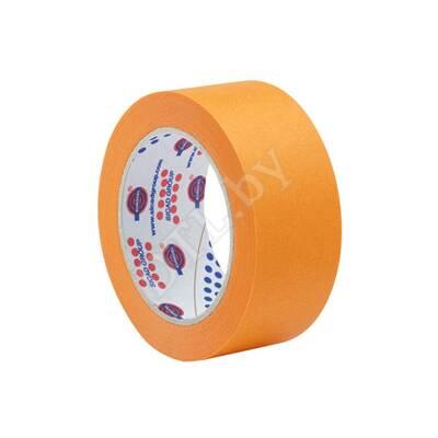 Маскирующая малярная лента 80°С, оранжевая 38 мм*40 м