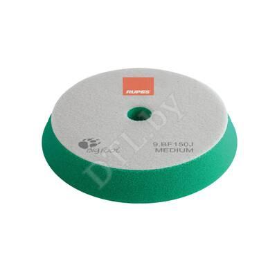 Полировальный круг Rupes Bigfoot средней жесткости 130/150 мм (зеленый)